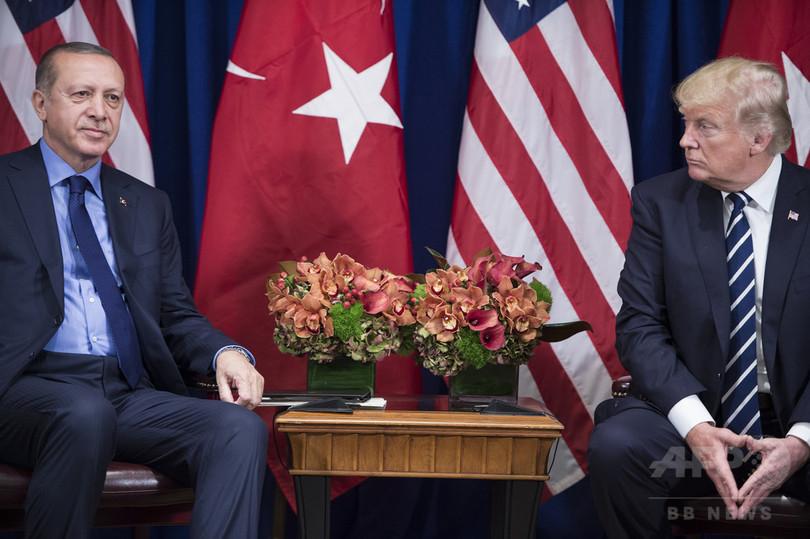 米トルコ、互いにビザ発給を停止 職員拘束で緊張高まる