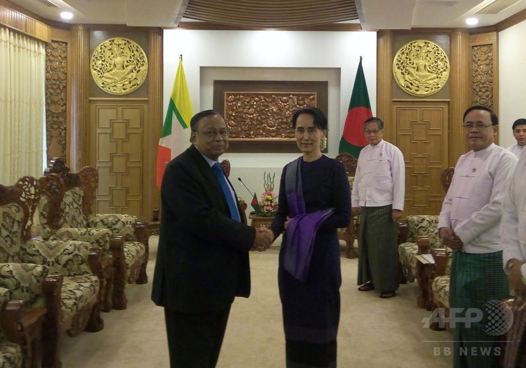 ミャンマーとバングラ、2か月以内にロヒンギャの帰還開始で合意