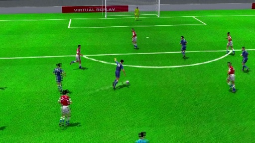 3D動画:後半6分の乾貴士のゴール、日本対パラグアイ