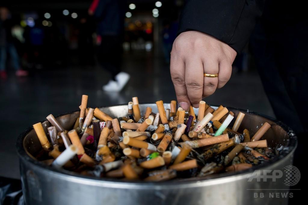 喫煙で毎年700万人が死亡、経済損失は155兆円 WHO