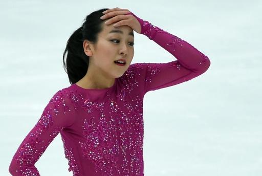 浅田は4位と出遅れる、宮原が米国勢を抑え首位に NHK杯