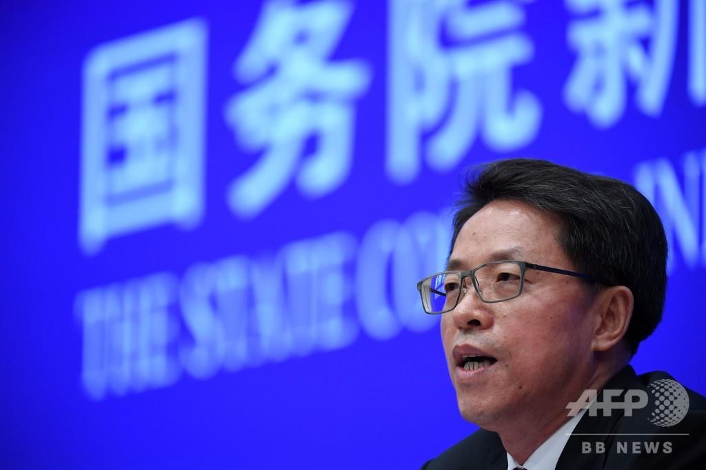 外国の干渉は「不要」、香港国家安全法批判に中国が反発