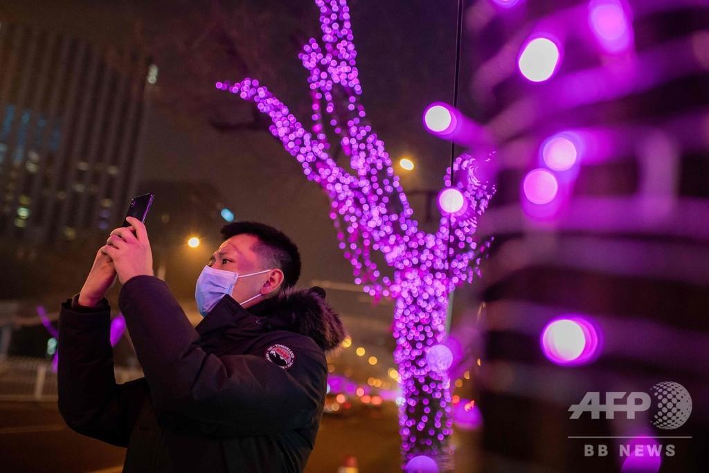 新型ウイルス、中国の感染者5974人 死者132人に SARS感染者超える