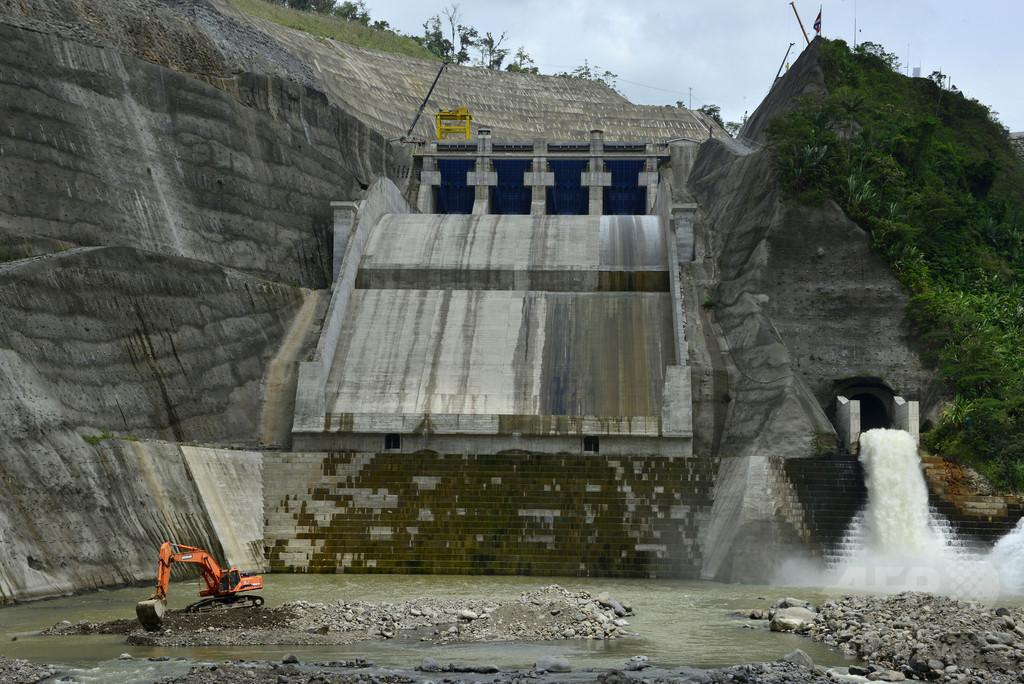 コスタリカの水力発電ダム、まもなく全面稼働へ