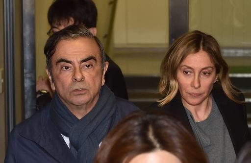 ゴーン被告の妻に偽証容疑で逮捕状、一家の広報担当者は「哀れ」と批判