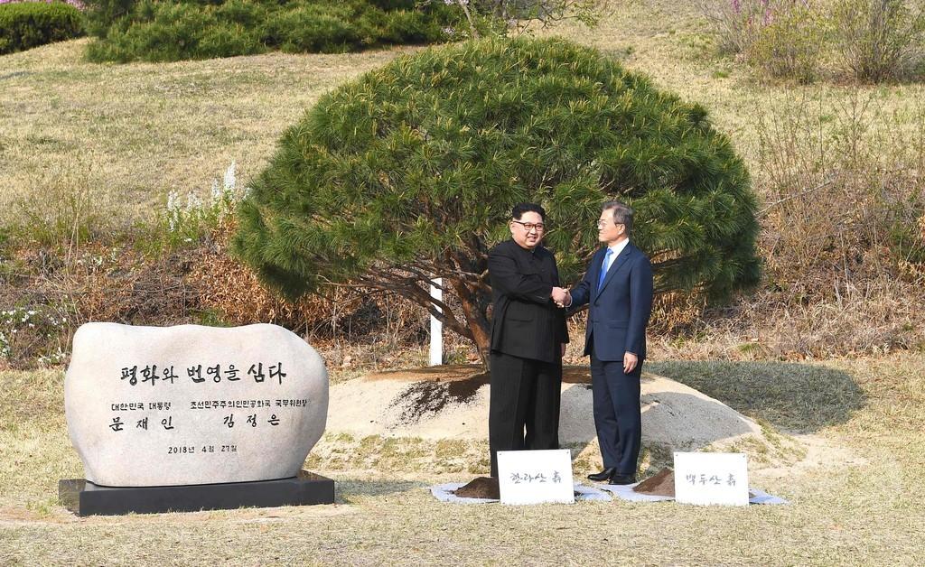中国、南北会談に臨んだ両首脳の「勇気」を称賛 漢詩の一節引用