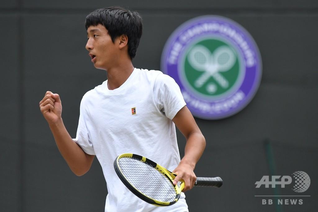 望月慎太郎がウィンブルドンジュニア優勝、日本男子初の快挙
