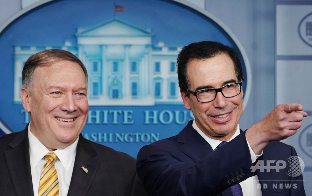 トランプ氏、イランと月内に首脳会談も 米政権幹部が表明