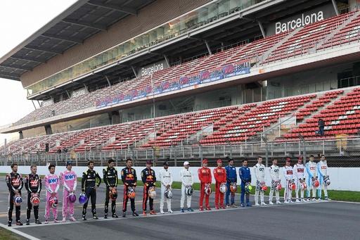 【写真特集】2020F1バルセロナ合同テスト初日