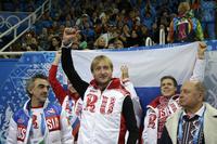 【写真特集】ロシアフィギュアスケート界の「皇帝」プルシェンコ