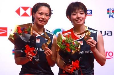 福島/廣田組がマレーシア・マスターズ女子複制覇、混合複で渡辺/東野組も優勝