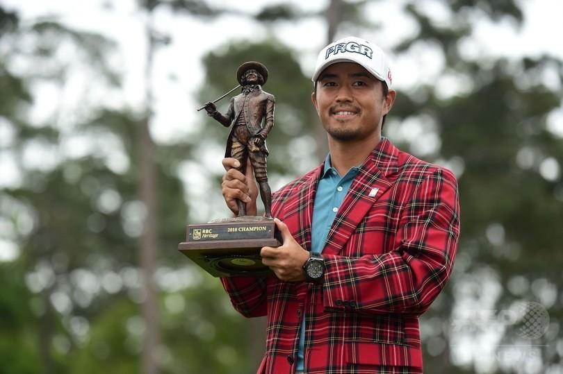 小平智がツアー初制覇、プレーオフの末RBCヘリテージ優勝