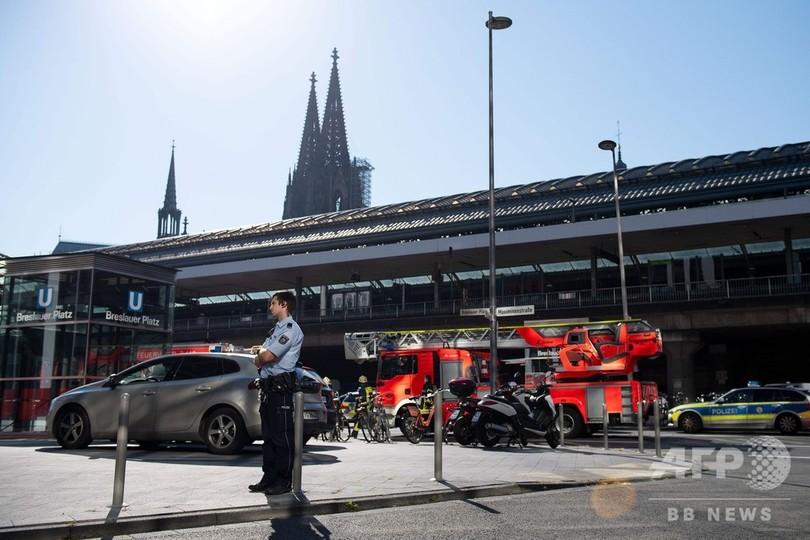 ドイツ・ケルン中央駅で人質事件、人質救助 容疑者は重傷 テロの可能性も