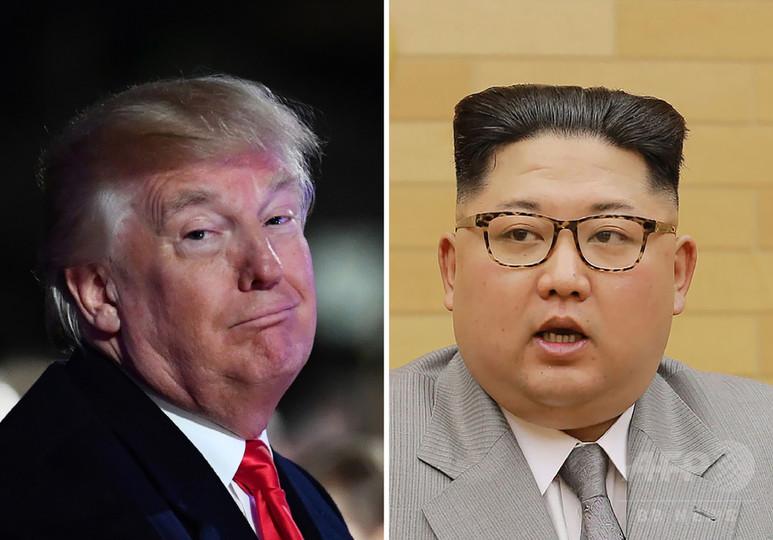 トランプ氏の「金正恩氏と非常に良い関係」発言は誤引用、米大統領報道官