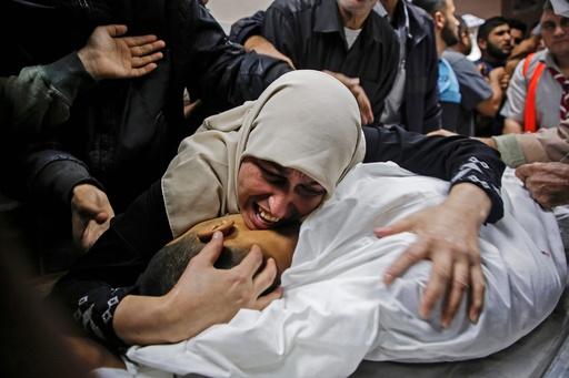 イスラエル軍、パレスチナ武装勢力の司令官殺害 ガザで10人死亡