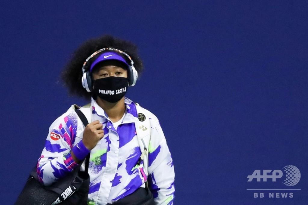 全米決勝進出の大坂、黒人犠牲者の名前入りマスクが力に