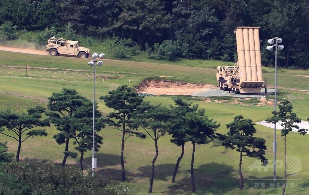 韓国国防省、THAADの追加配備を発表 核実験の対抗措置