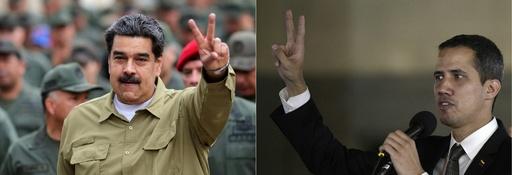 ベネズエラのマドゥロ大統領、人道支援物資の受け入れに合意