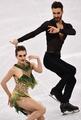 アイスダンスで仏代表の衣装はだける、選手は「悪夢」と涙 平昌五輪
