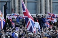 EU離脱賛成派、英独立党呼び掛けのデモに参集
