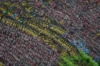【特集】放置された山積みのシェア自転車 中国