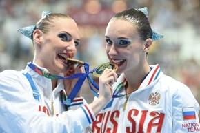 イシェンコ/ロマシナ組がデュエットFRでも金、乾/三井組は4位 第16回世界水泳