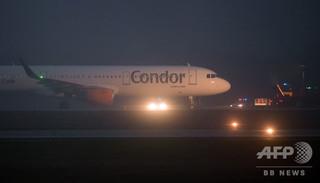 「機内に爆発物」との連絡で独機が緊急着陸、誤報と判明