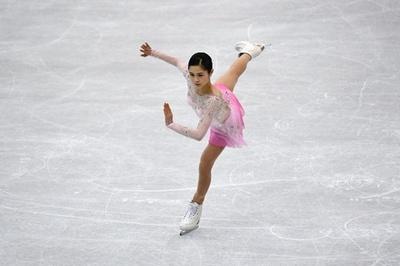宮原がSP首位発進、北朝鮮ペアには拍手喝采 四大陸選手権