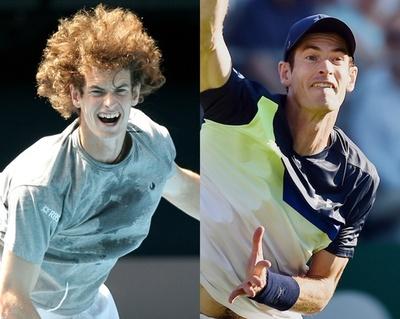 【写真特集】男子テニス選手のビフォーアフター