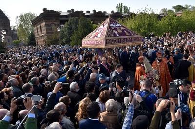 アルメニア教会、「ジェノサイド」犠牲者150万人を列聖