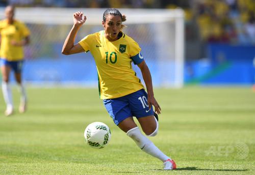 女子ブラジル代表マルタがスウェーデン国籍を取得、引退後は同国で生活へ