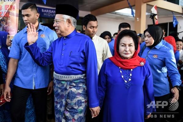 マレーシア当局、前首相夫人を拘束 数十億ドル規模の汚職に絡み