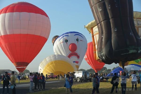 国際熱気球フェスティバル開催、フィリピン