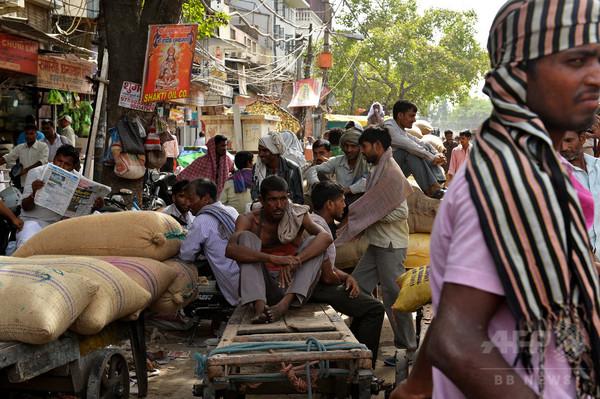 【写真特集】熱波に見舞われたインド