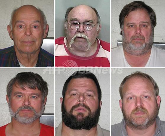米農村に「セックスカルト家族」、一家の男6人が孫たちを強姦