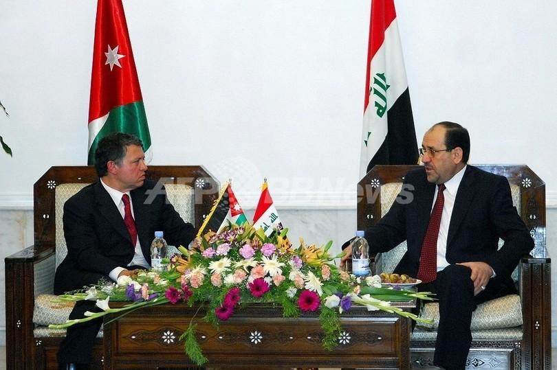 ヨルダン国王がイラク訪問、米軍進攻後初