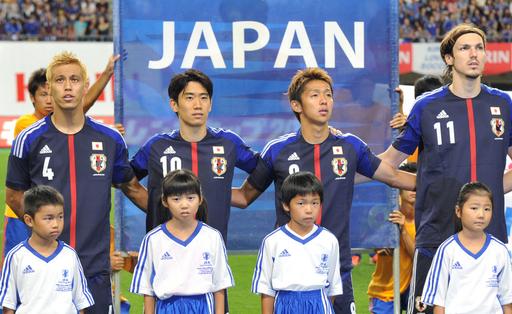 サッカー日本代表、ハーフナーのゴールでUAEに勝利