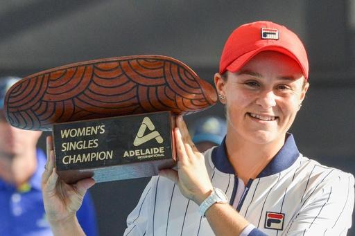 女王バーティがアデレード国際制覇、全豪OPへ弾み