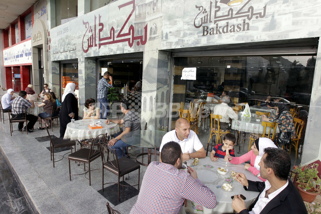 故郷のアイスクリームに流す涙、ヨルダンのシリア難民たち