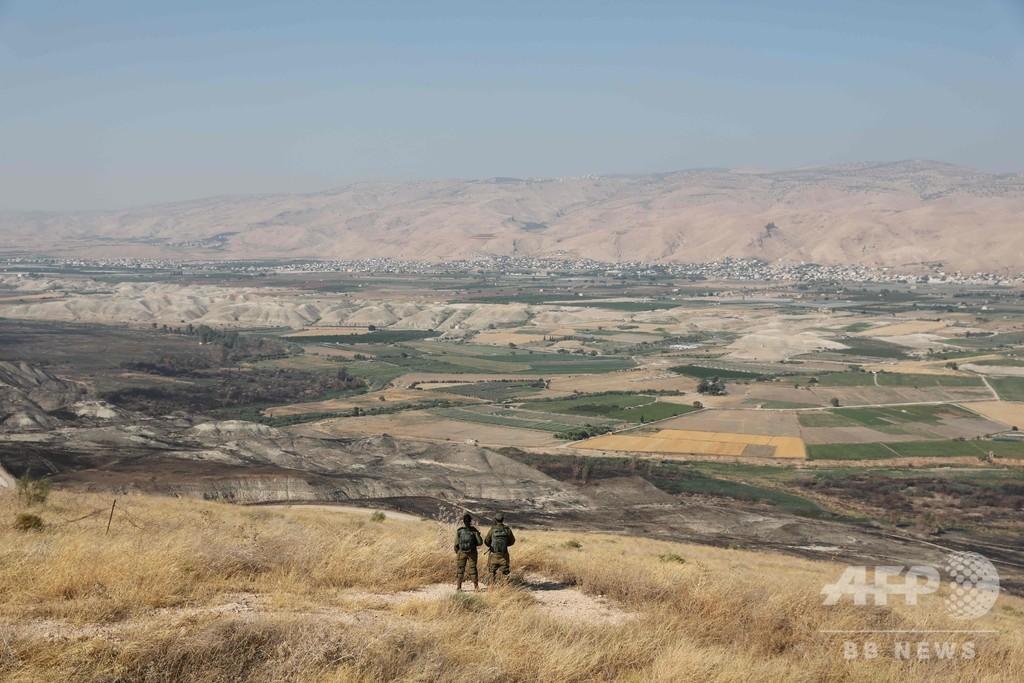 続投ならヨルダン渓谷を併合 イスラエル首相が表明