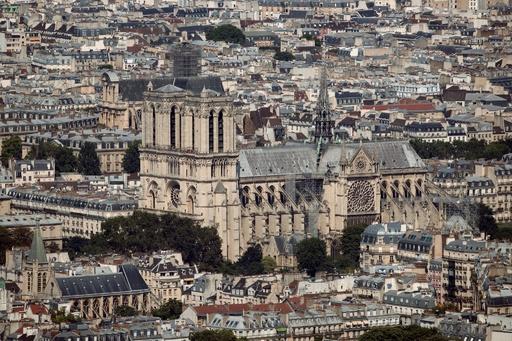 【写真特集】パリのノートルダム大聖堂