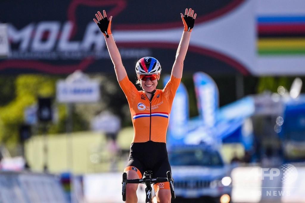ファン・デル・ブレッヘン、95年以来の2冠達成 ロード世界選手権