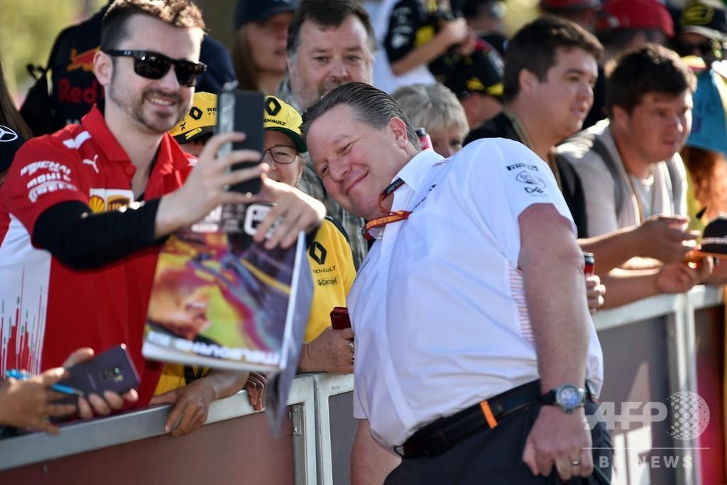 F1は新型コロナで「危うい状態」 マクラーレン代表が危機感
