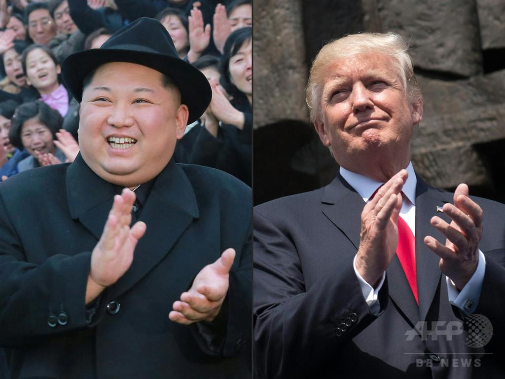 米朝首脳会談は「5月か6月上旬」 トランプ氏が言明