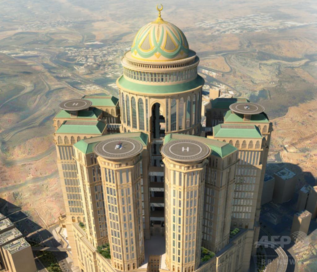サウジアラビアに客室1万室のホテル建設へ