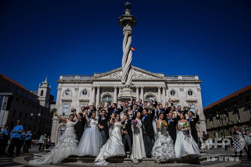 守護聖人の贈り物、リスボンで毎年恒例の豪華な無償結婚式