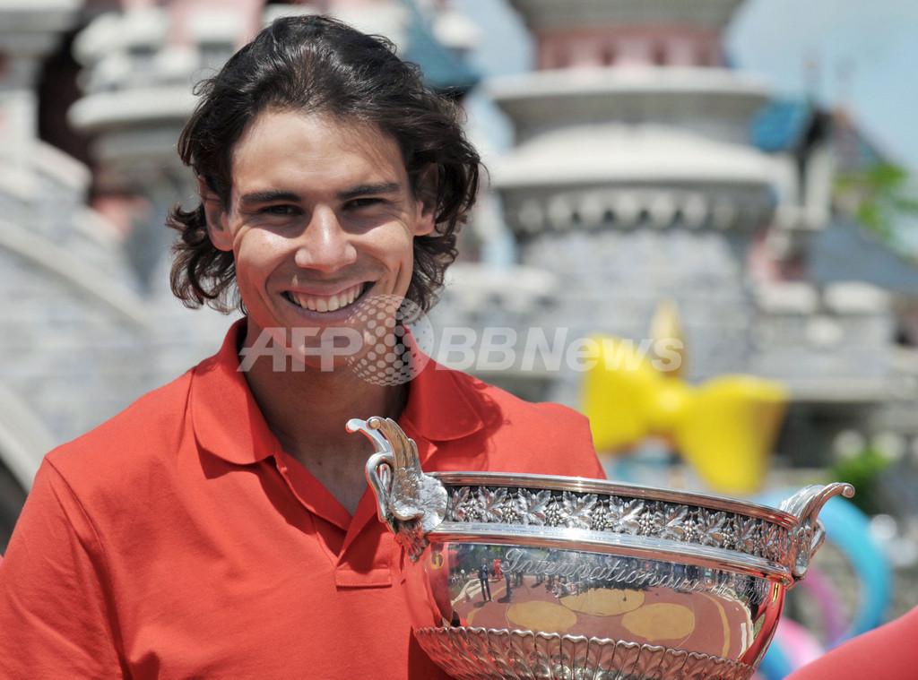 ナダル 2年ぶり5度目の優勝、全仏オープン