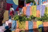 インドネシアの「レインボー村」、ネットで脚光浴びる