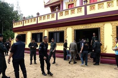 タイ南部の仏教寺院で銃撃、僧侶ら4人死傷