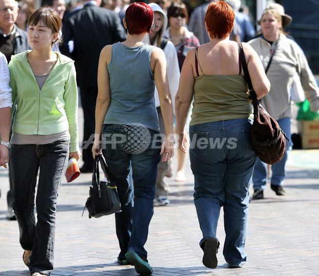 ますます太るオーストラリア人